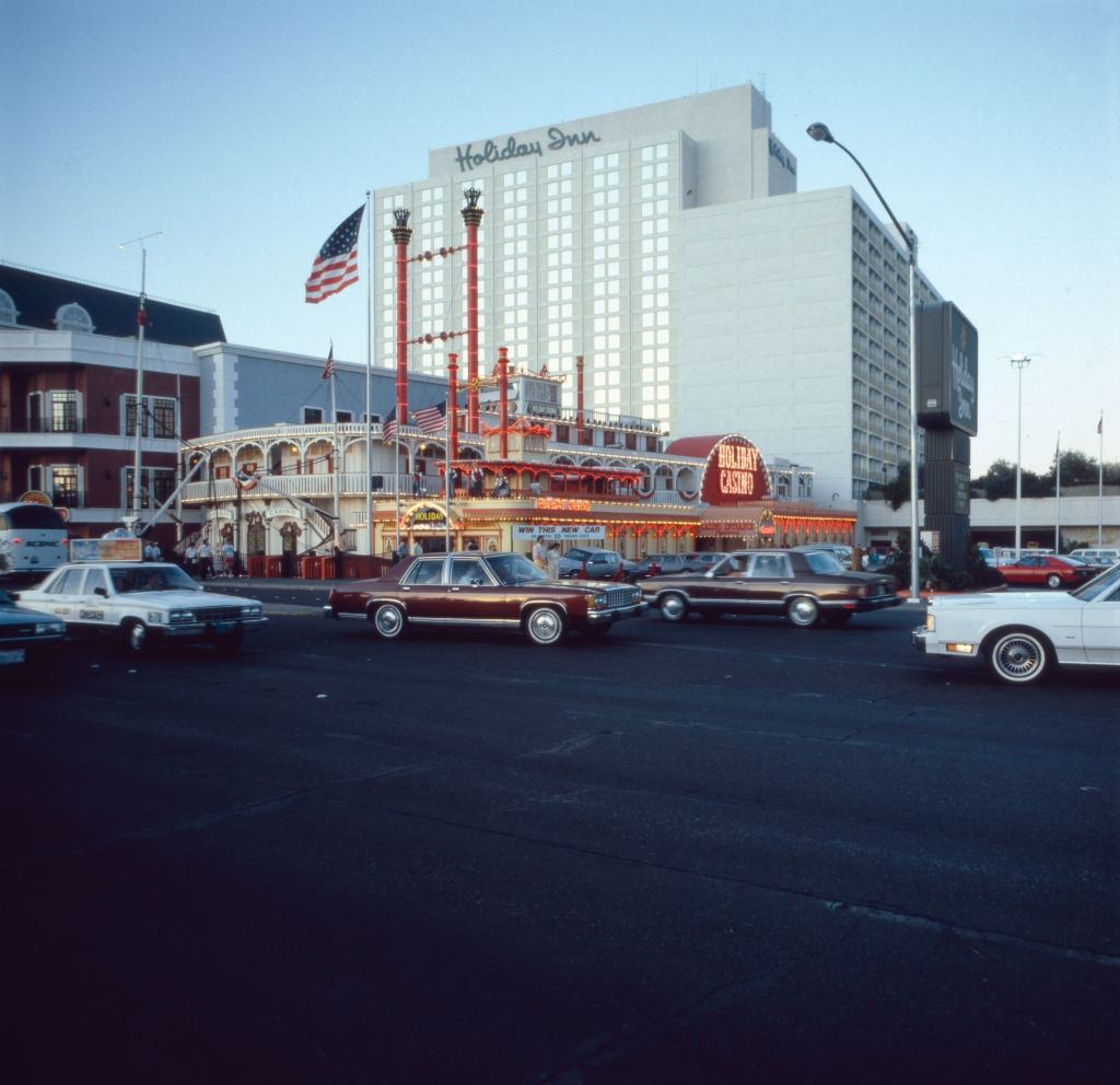 The Holiday Casino at the Las Vegas Blvd, 1980s.