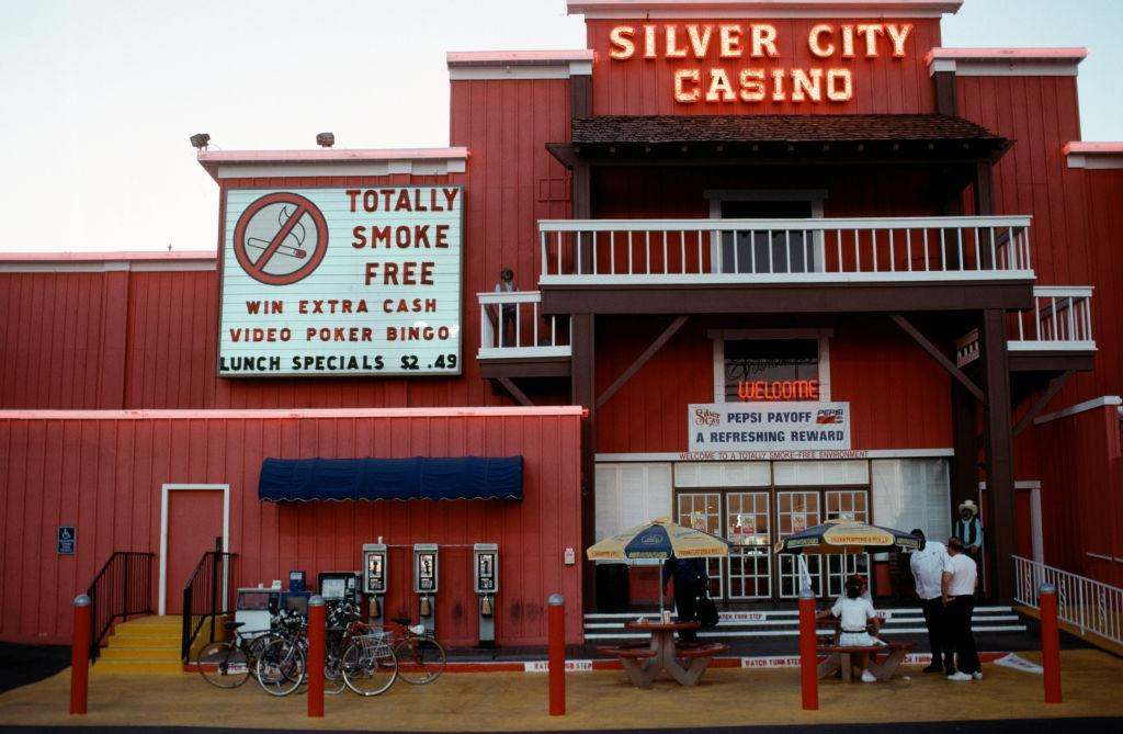 The 'Silver City Casino' in Las Vegas, 1984.