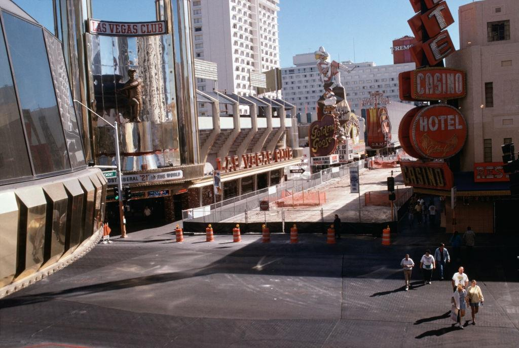 Hotels and casinos in Las Vegas, 1984.