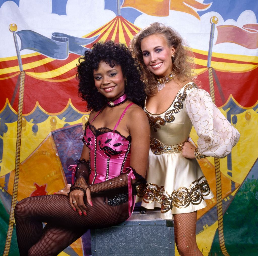 Circus of the Stars, a CBS television special in Las Vegas, 1984.