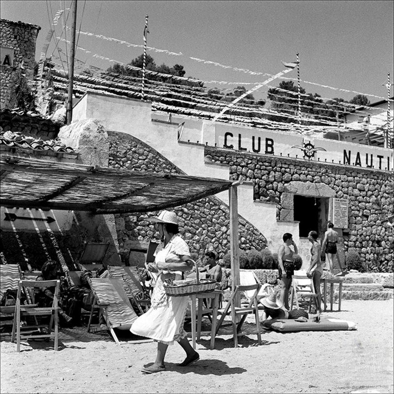 People in the sailing club of Sóller, 1956