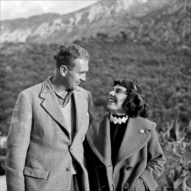 A couple in Fornalutx, 1956