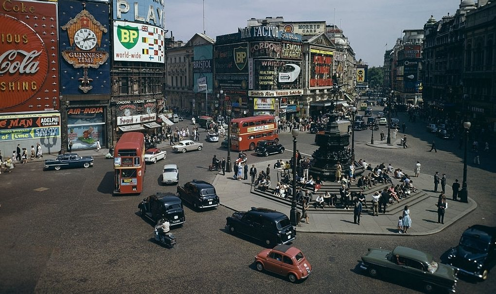 London in 1962: Wonderful Color Photos That Will Take You Back To ...