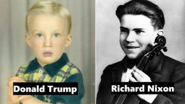 US Presidents When They Were Young And Unaware Of Their Future