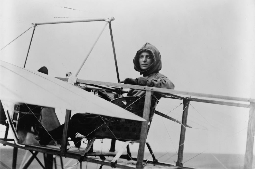 Harriet Quimby és Blériot XI.
