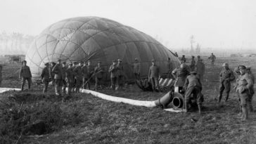 Military Observation Balloons of WWI: Before Satellites And Drones, these Hot Air Balloons Were Used For Surveillance