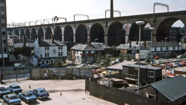 Manchester Railways in the 1980s: Stunning Atmospheric Shots of Manchester's Trains by David Rostance