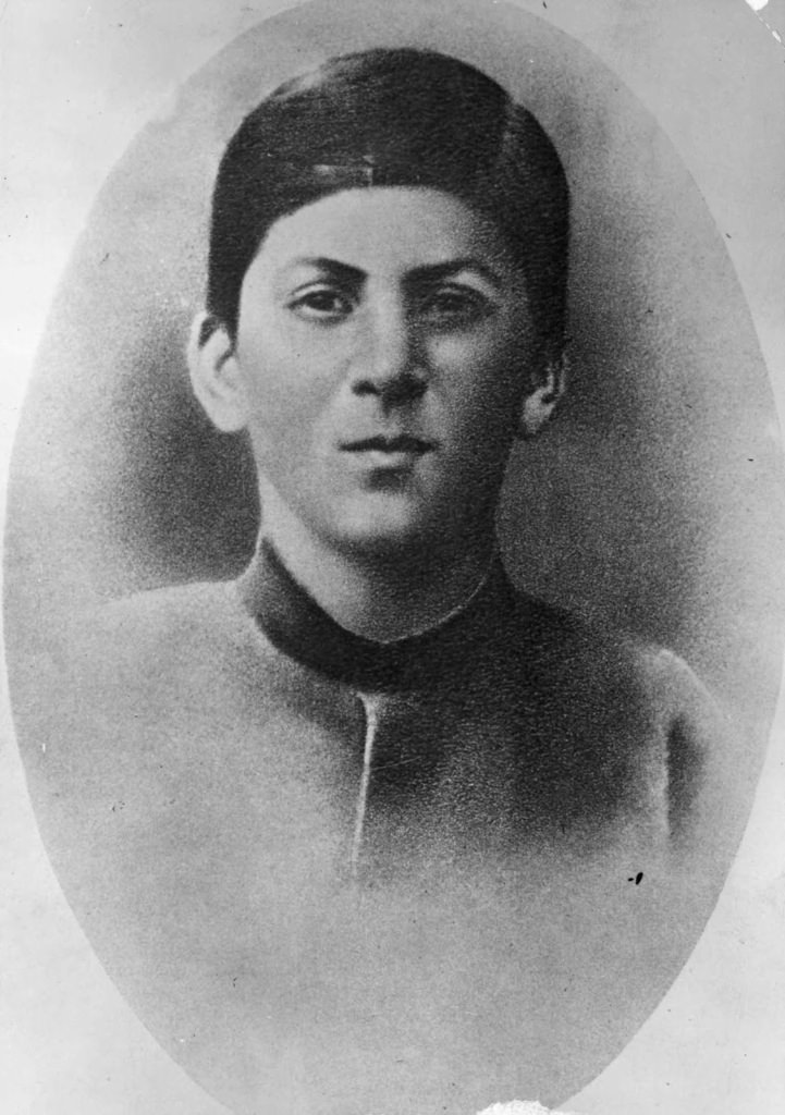 Young Stalin at the age of 15.