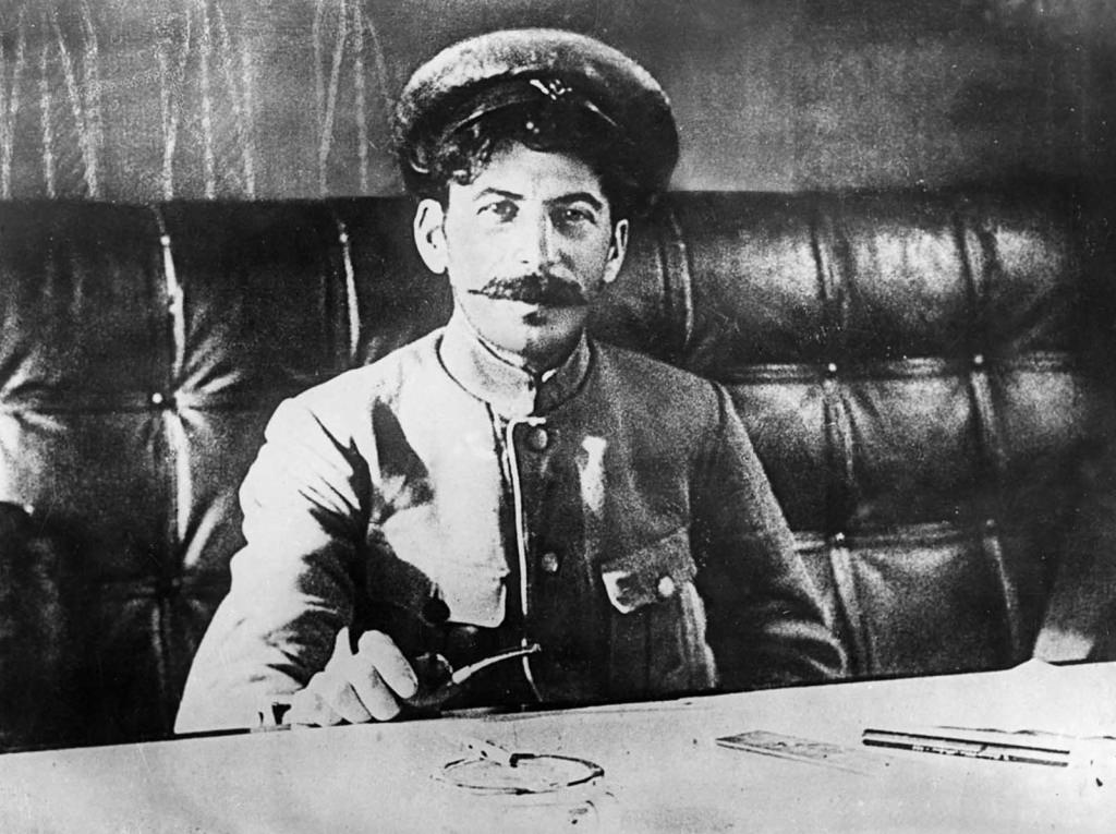 Stalin during the October Revolution in Russia, 1917