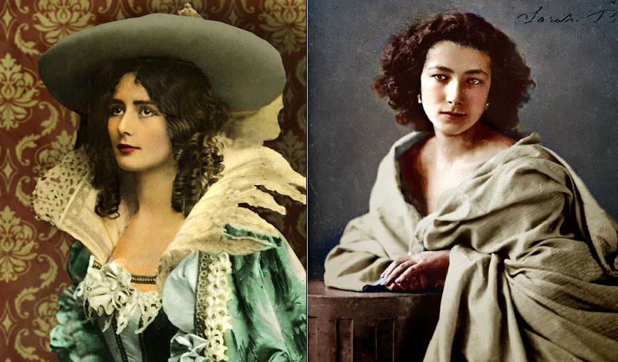 colorized portraits mid-19th century