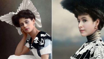 Stunning Colorized Photos of Russian Beauties from the Early 20th Century by Ola Shrinina