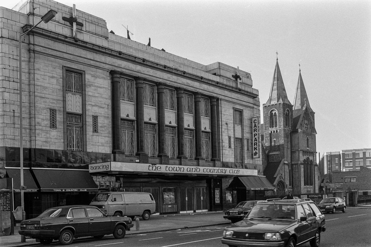 Town and Country Club, Kentish Town Rd, Camden, 1987