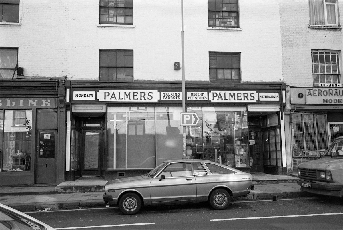 Palmers, Pet Stores, Parkway, Camden, 1987