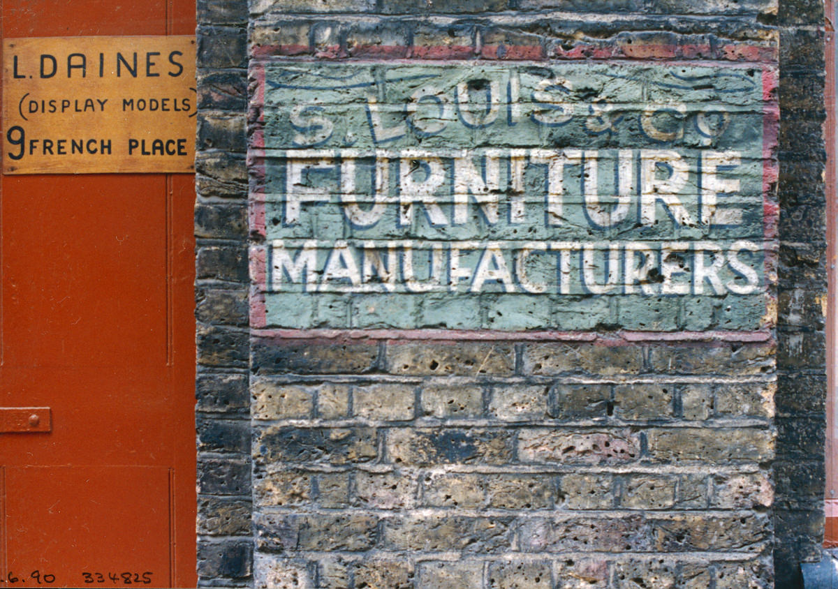 S Louis, Furniture Manufacturers, French Place, 1990