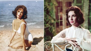 Behind-the-Scenes Photos of Elizabeth Taylor on the Set of 'Suddenly, Last Summer,' 1959