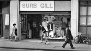 Cambridge streets and shops 1980s