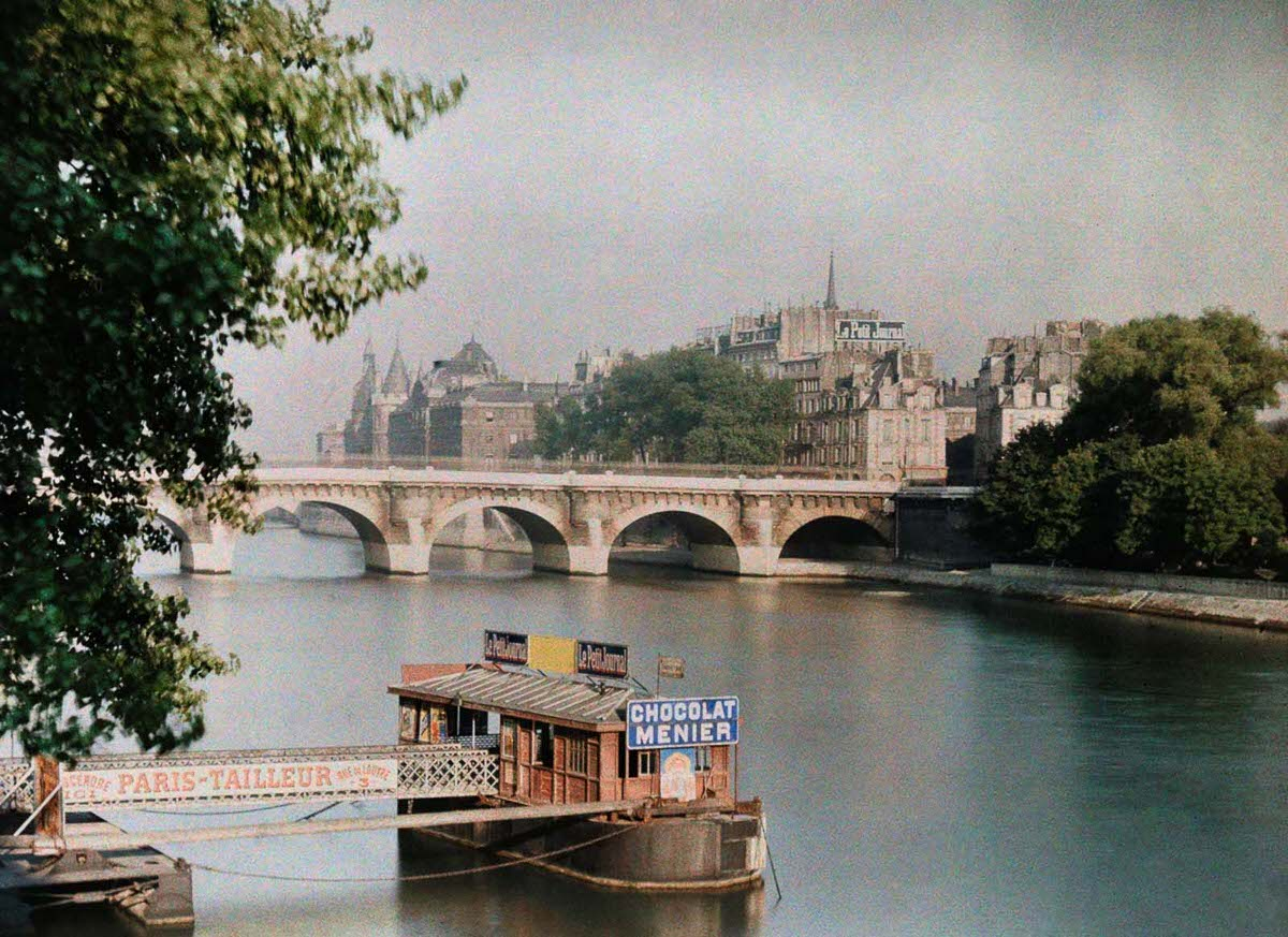A view across the Seine.