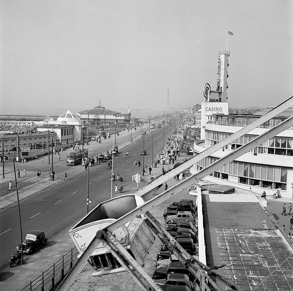 The Casino on the South Shore, Blackpool, 1955.
