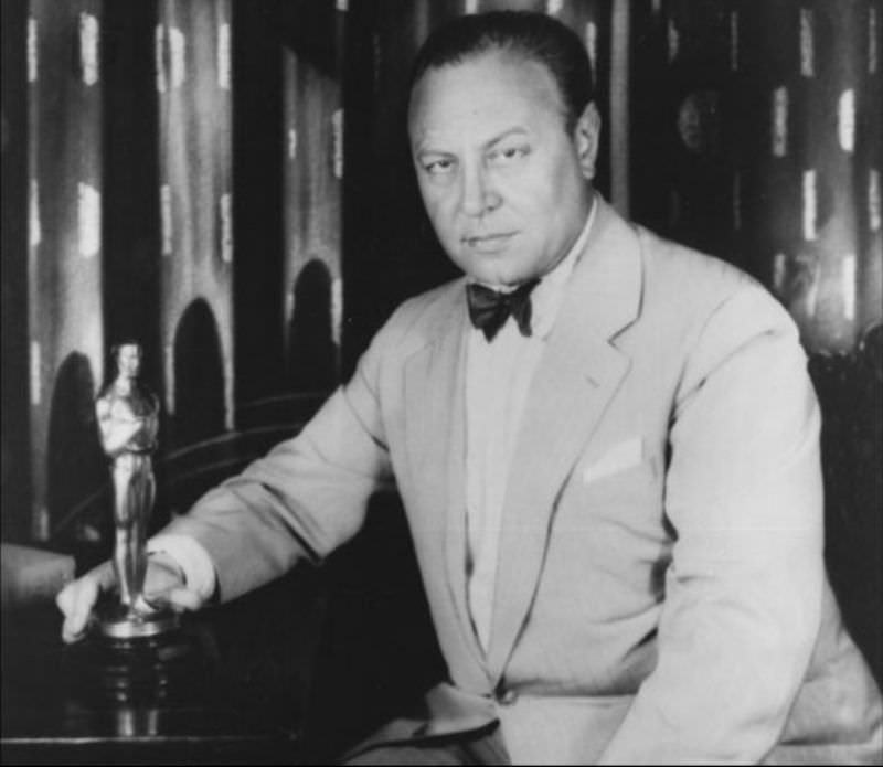 """German actor Emil Jannings won Best Actor for won BEST ACTOR for """"The Last Command"""" and """"Way of All Flesh"""""""