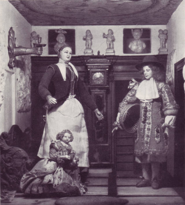 Domestics from the Utrecht doll's house, ca. 1670.
