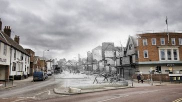 Norwich bliNorwich blitz then and nowtz then and now