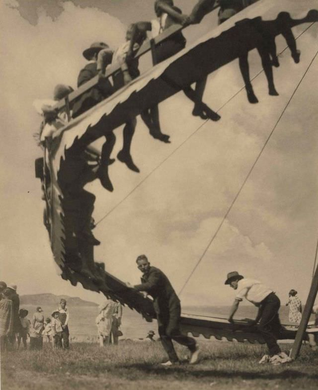The wheel of youth, 1929