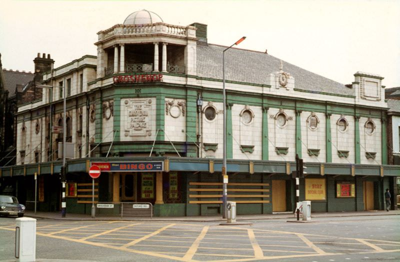 Grosvenor Picture Palace.