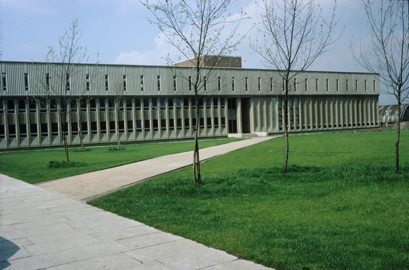 Architecture and Planning Building.