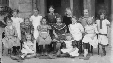Fascinating Historical Photos of Danish Schools and Kindergartens from the 20th Century