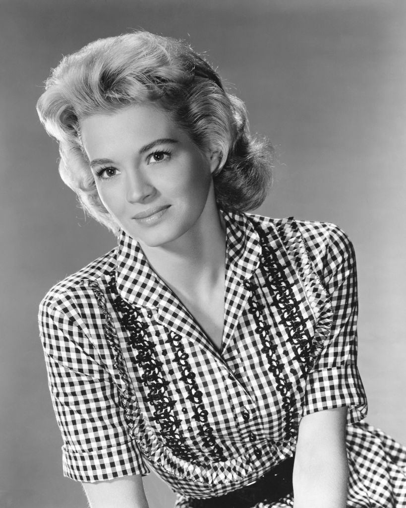 Angie Dickinson as Fran in a publicity still for the film 'The Bramble Bush', 1960.