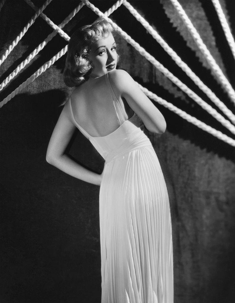 Betty Grable, 1939.