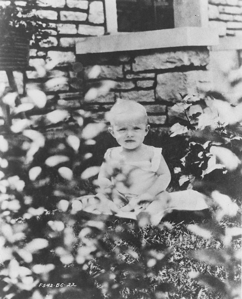 Betty Grable as an Infant, 1917.