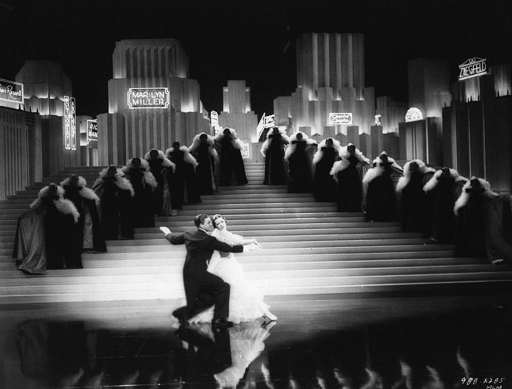 Eleanor Powell and George Murphy in the MGM film 'Broadway Melody Of 1938'
