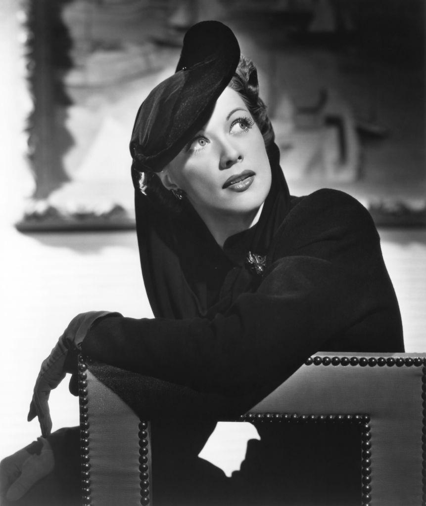 Eleanor Powell in a scene from the movie 'Lady Be Good', 1941.