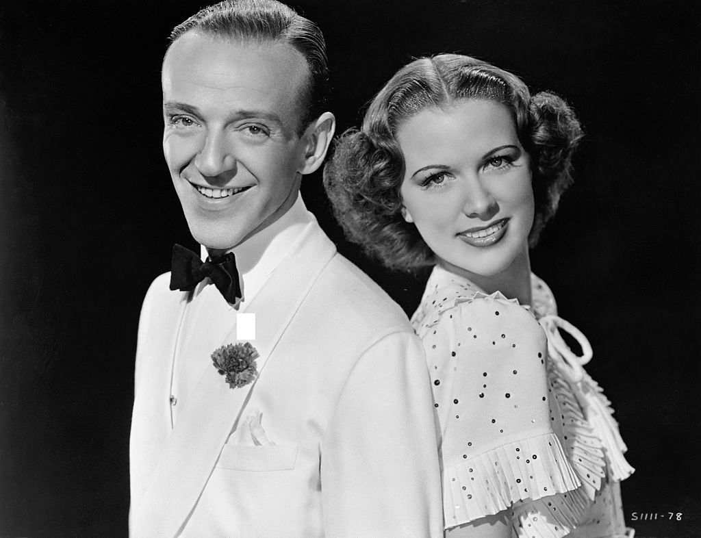 Eleanor Powell with Fred Astaire, 1940.