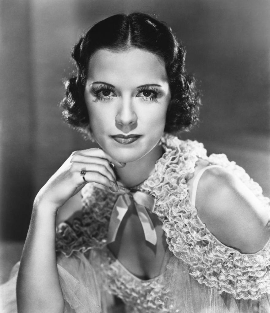 Eleanor Powell in a scene from the movie 'Broadway Melody of 1938'.