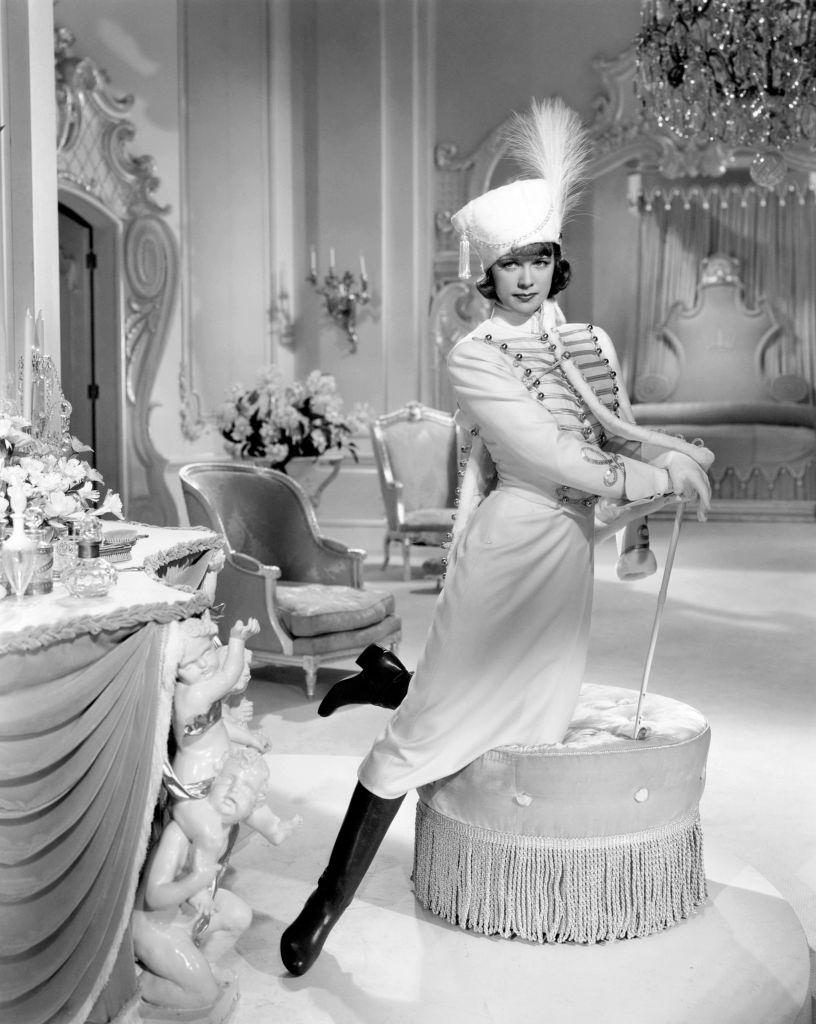 Eleanor Powell in a scene from the movie 'Rosalie', 1937.