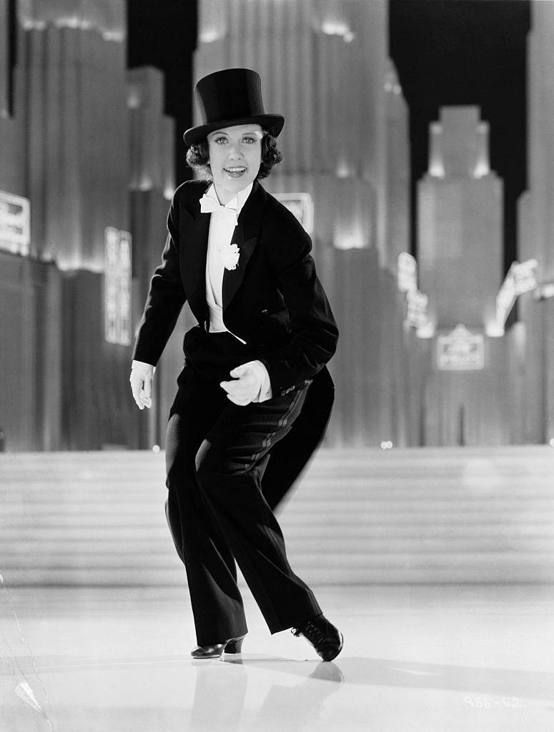 Eleanor Powell in Broadway Melody of 1938.