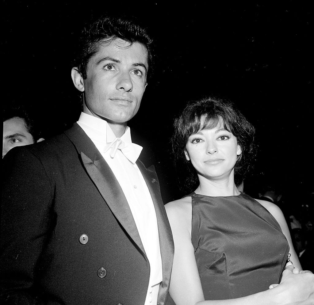Rita Moreno and George Chakirisattend an event in Los Angeles, 1962.
