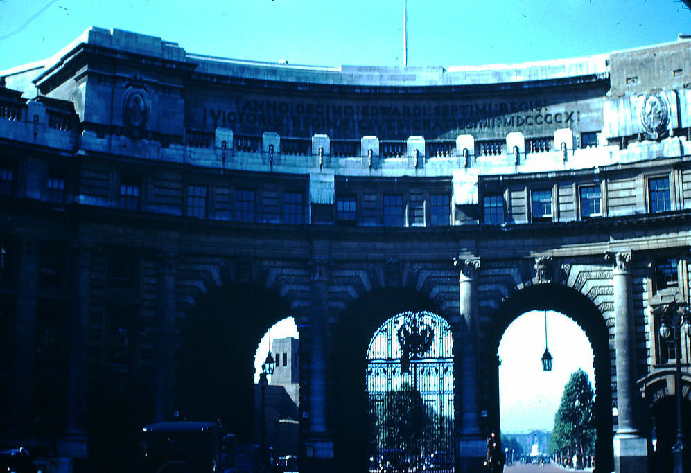 Admiralty Arch, London, 1949.