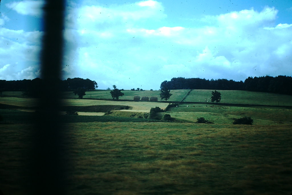 English Countryside From Royal Scot, 1949.