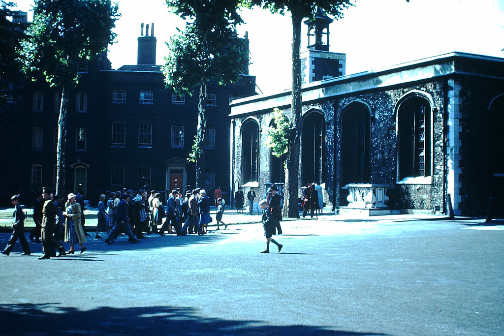 Tower of London, 1949.