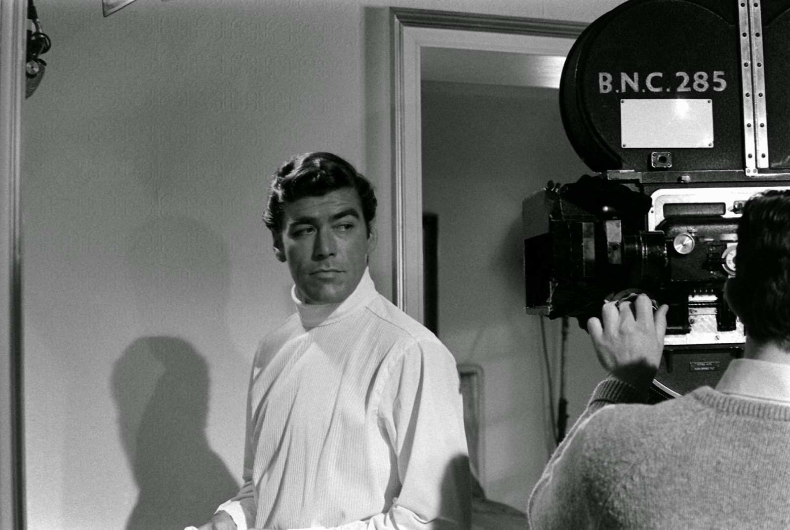 Anthony Rogers during his James Bond audition, 1967.