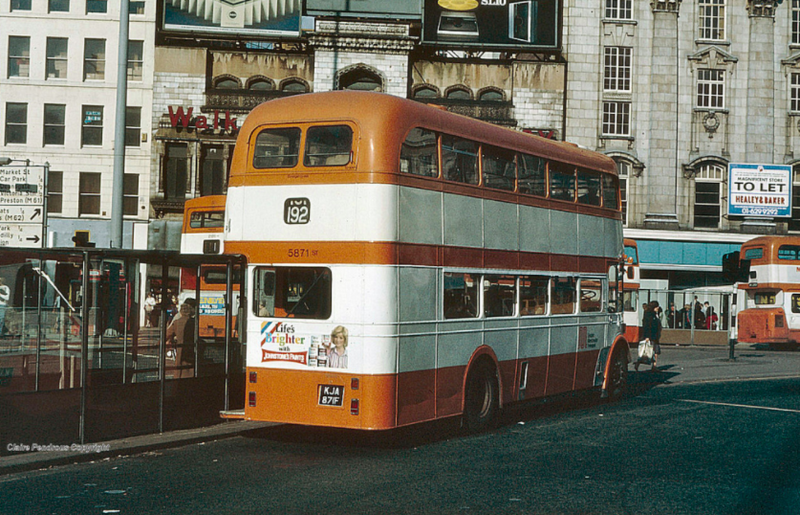 Piccadilly Gardens, 1980