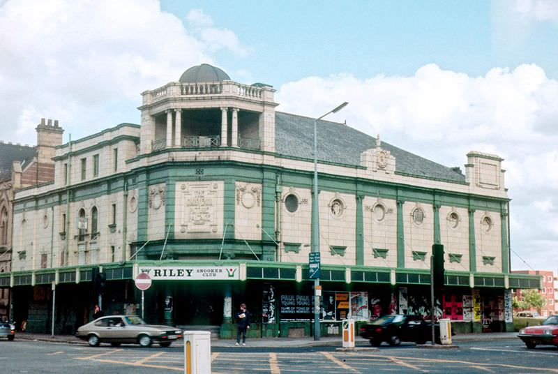 The Grosvenor Picture Palace building at All Saints, 1985