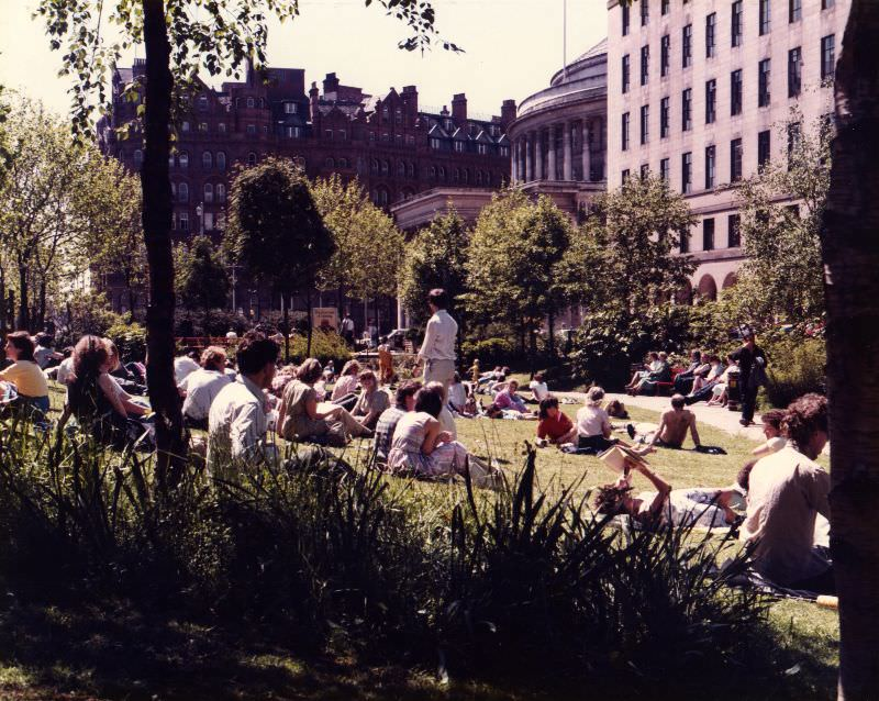 St Peter's Square Gardens, 1985