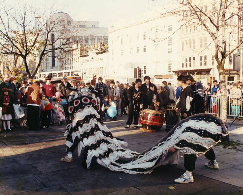 Piccadilly Gardens, 1986