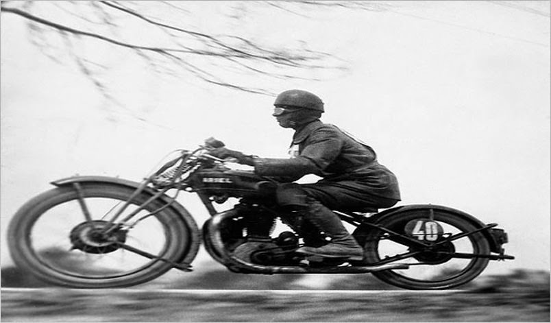 At 100 Kilometers - Driver in Hungarian Tourist Trophy Race, 1929