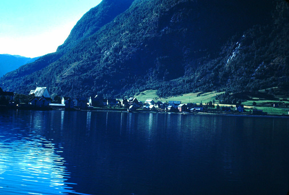 Sognefjord, Norway, 1940s.