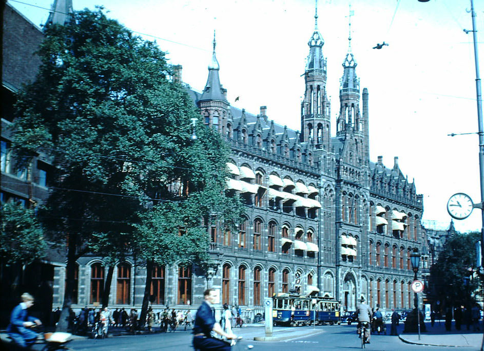 Post Office Building, the Netherlands, 1940s.